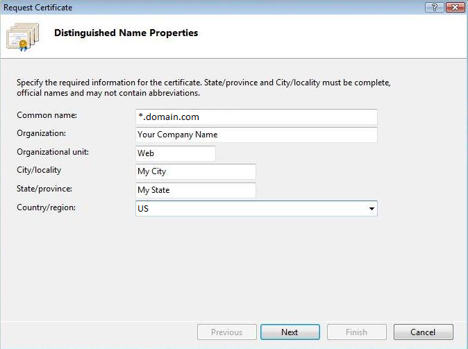 How to Generate a WildCard SSL Certificate Signing Request