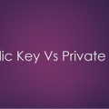 public key vs private key