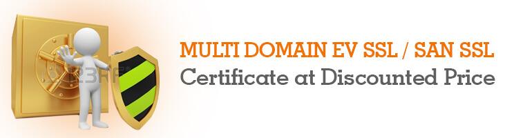 Learn About Multi Domain EV SSL Certificate Security