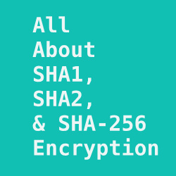 Explained SHA1, SHA2, and SHA-256 Hash Encryption