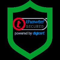 thawte shield logo