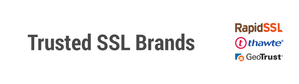 Trusted SSL Brand Header Image